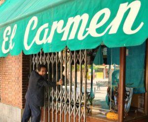 Tejidos El Carmen. Por Rocío Pastor Eugenio.