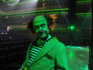 Clown de Eoloh! Fotografía por/ de Rocío Pastor Eugenio. WOMANWORD
