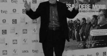 Paolo Taviani. Fotografía por/ de Rocío Pastor Eugenio. WOMANWORD