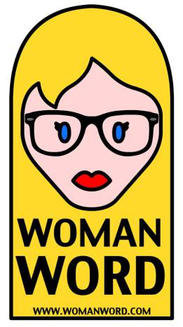 WOMANWORD Logo y Marca Registrada. All Rights Reserved