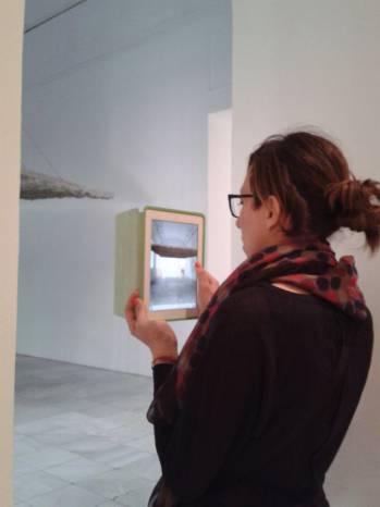 Cristina Iglesias: Metonimia. Fotografía de/ por Rocío Pastor Eugenio. WOMANWORD