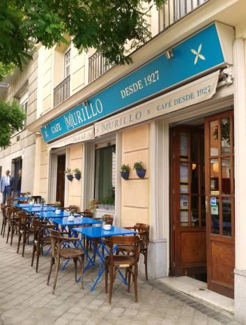 Café Murillo. Fotografía de/ por Rocío Pastor Eugenio. WOMANWORD