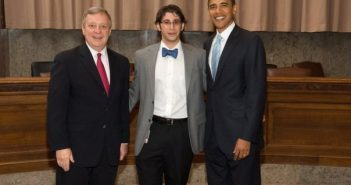 Mike Fricchione with Obama