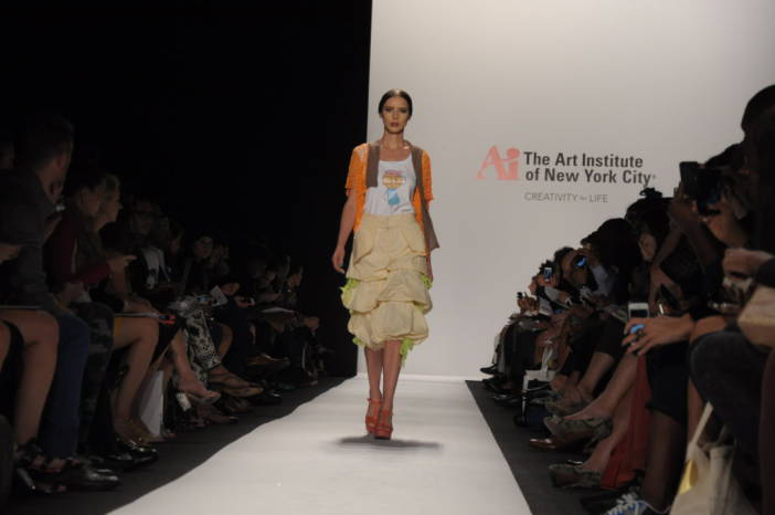 The Art Institute of New York City Catwalk. Fotografía de/ por © Rocío Pastor Eugenio. ® WOMANWORD