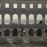 Pula: Anfiteatro romano y Casa de Cultura