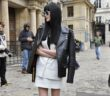 Street Style Lanvin Paris Fashion Week WOMANWORD