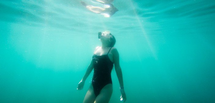My first Picture UnderWater by Taylor Burk