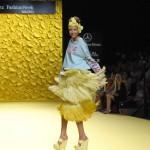Agatha Ruiz de la Prada y su backstage multicolor