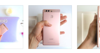 WOMANWORD with Huawei P9 Rosa