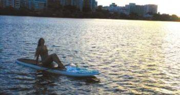 WOMANWORD Paddle Surf en Puerto Rico