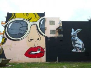 WOMANWORD. Street Art en Santurce es Ley