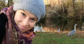 Mi amiga la Garza. Voldenpark. Amsterdam. WOMANWORD