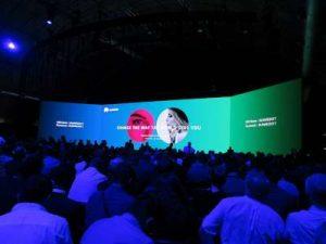 WOMANWORD en Barcelona en el Evento de Huawei P10