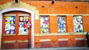 WOMANWORD in Manchester. Welcome to the street art underground city