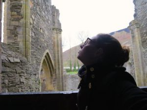 WOMANWORD in Valle Crusis Abbey Uk Wales