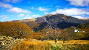 WOMANWORD in Snowdonia Uk Wales