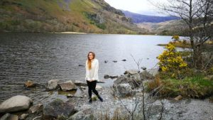 WOMANWORD in Nant Gwynant Pass Uk Wales
