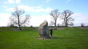 Maybugh Henge WOMANWORD in Wales