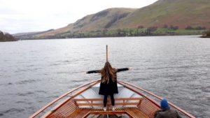 Ullswater WOMANWORD in Wales