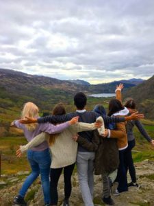 WOMANWORD in Wales with the OMGBLegends International Group