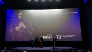 Ignacio de Loyola. Preestreno en Madrid Andreas Muñoz by WOMANWORD