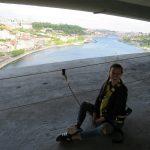 Turismo aventura: Escalo un puente en Oporto