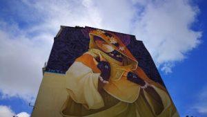 WOMANWORD in Paris. Street Art