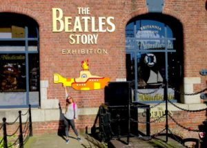 WOMANWORD in Liverpool at Beatles Museum