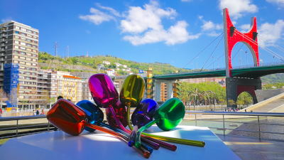 Un día en el Guggenheim de Bilbao