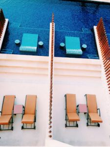 En el Barceló Maya. Riviera Maya. Quintana Roo. Yucatán. México by WOMANWORD