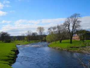 Eden Valley. WOMANWORD in UK - Wales, Gales