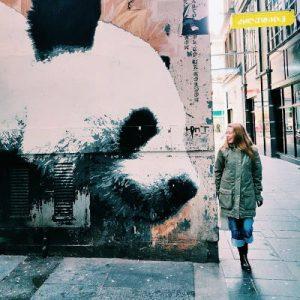Street Art. Photo Walk Scotland. Glasgow by WOMANWORD
