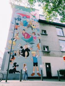 Antwerp Street Art by WOMANWORD