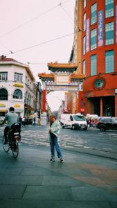 CHINATOWN. Antwerp by WOMANWORD