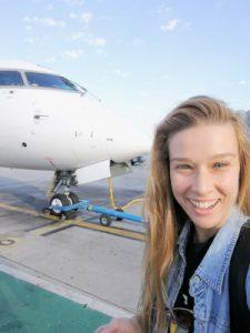 Mi llegada con Air Nostrum. #WOMANWORDinMálaga Comienzo de la aventura #Viajarnotienegenero #60dias6paises