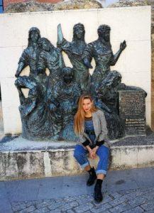WOMANWORD in Simancas. Valladolid. Castilla.