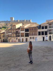 WOMANWORD in Peñafiel. Valladolid. Castilla.