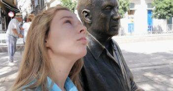 #womanwordinMálaga con Picasso