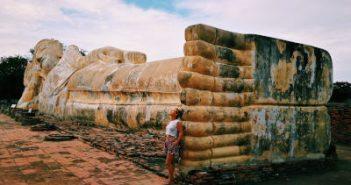 Ayutthaya. WOMANWORD