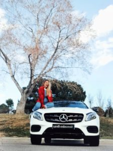 Mereces Benz viaja con WOMANWORD